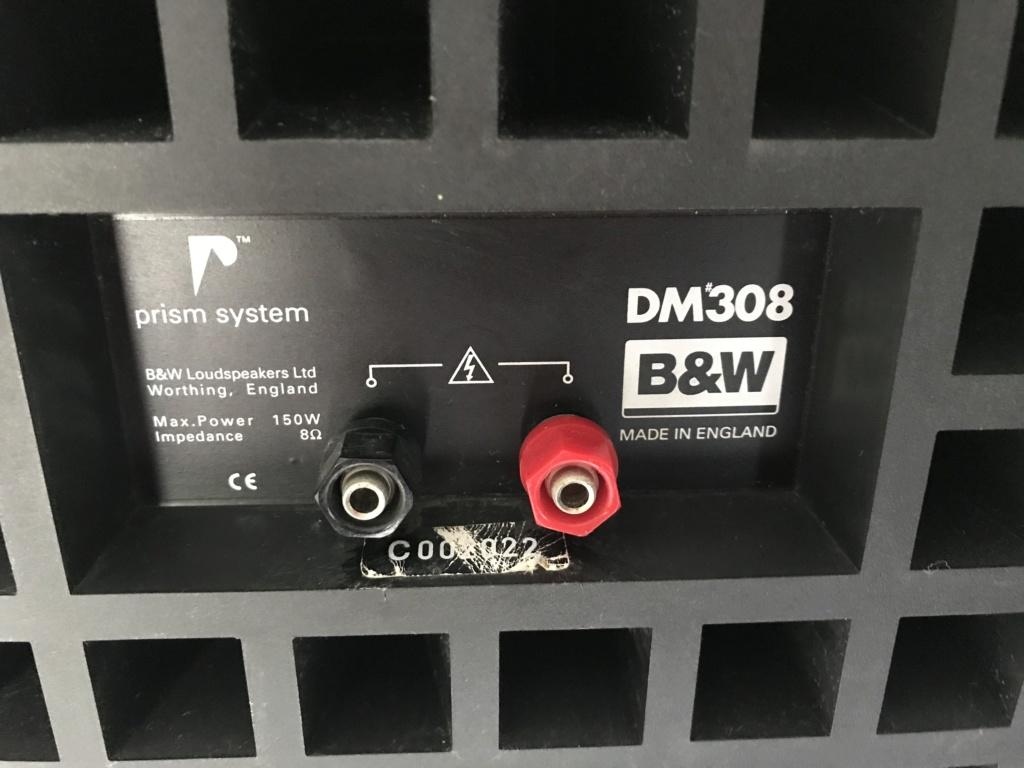 B&W DM'308nDM'302 n KLIPSCH center speakers(vintage) Img_0119