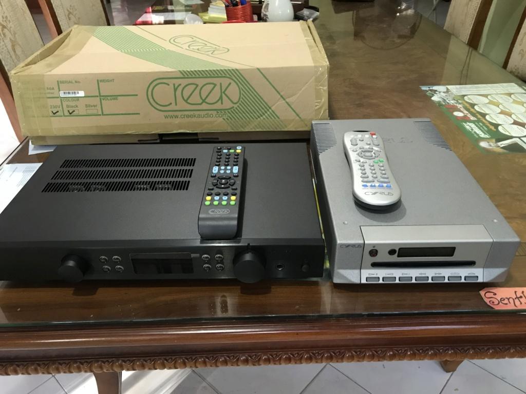 Creek evo50A amp Cyrus cd 6se2 n MA Gold 50 Img_0210