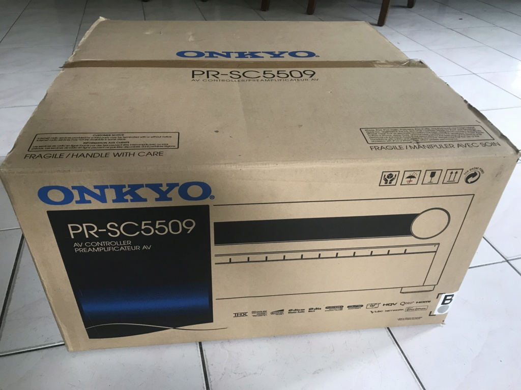 ONKYO PR-SC5509  3D 4K  Network Pre N Pro(SOLD) Img_0410