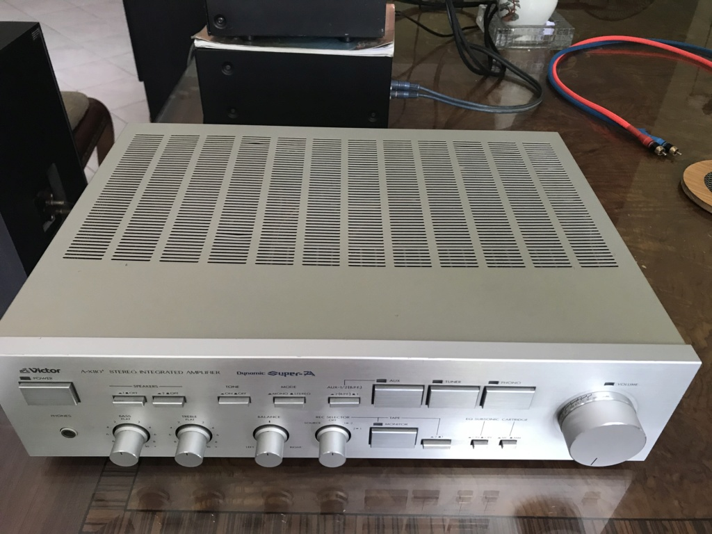 JVC VICTOR A-X110+ Integrated Amplifier Dynamic Super A Img_0521