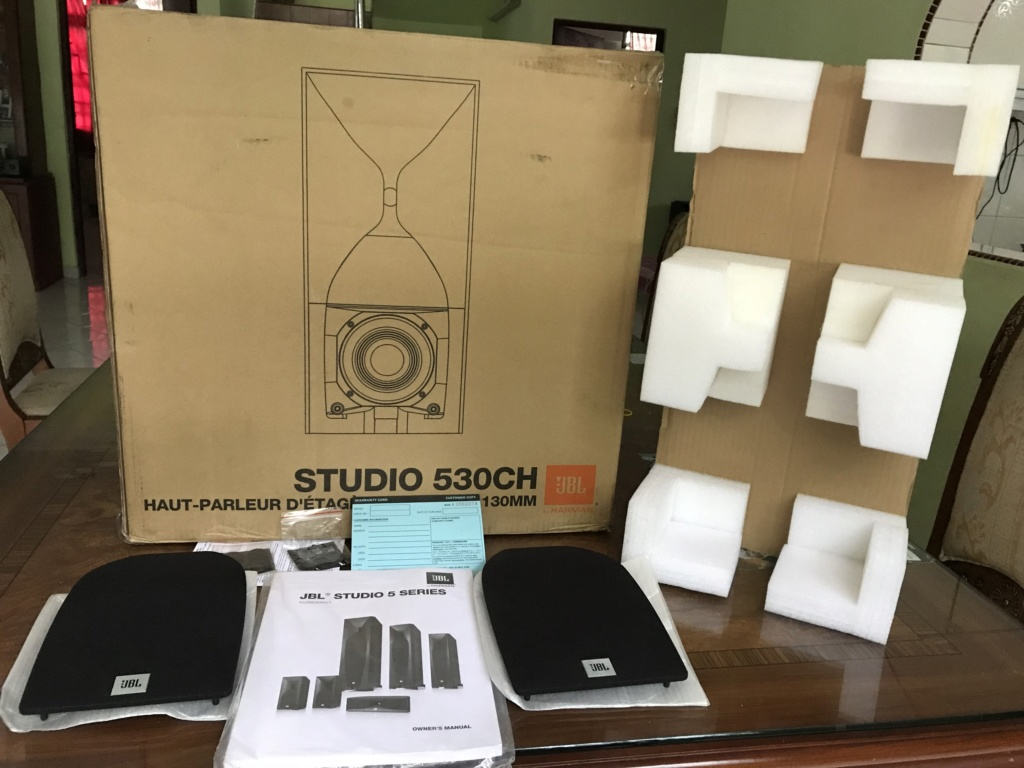 JBL studio 530 bookshelf speaker W/Box Img_1210