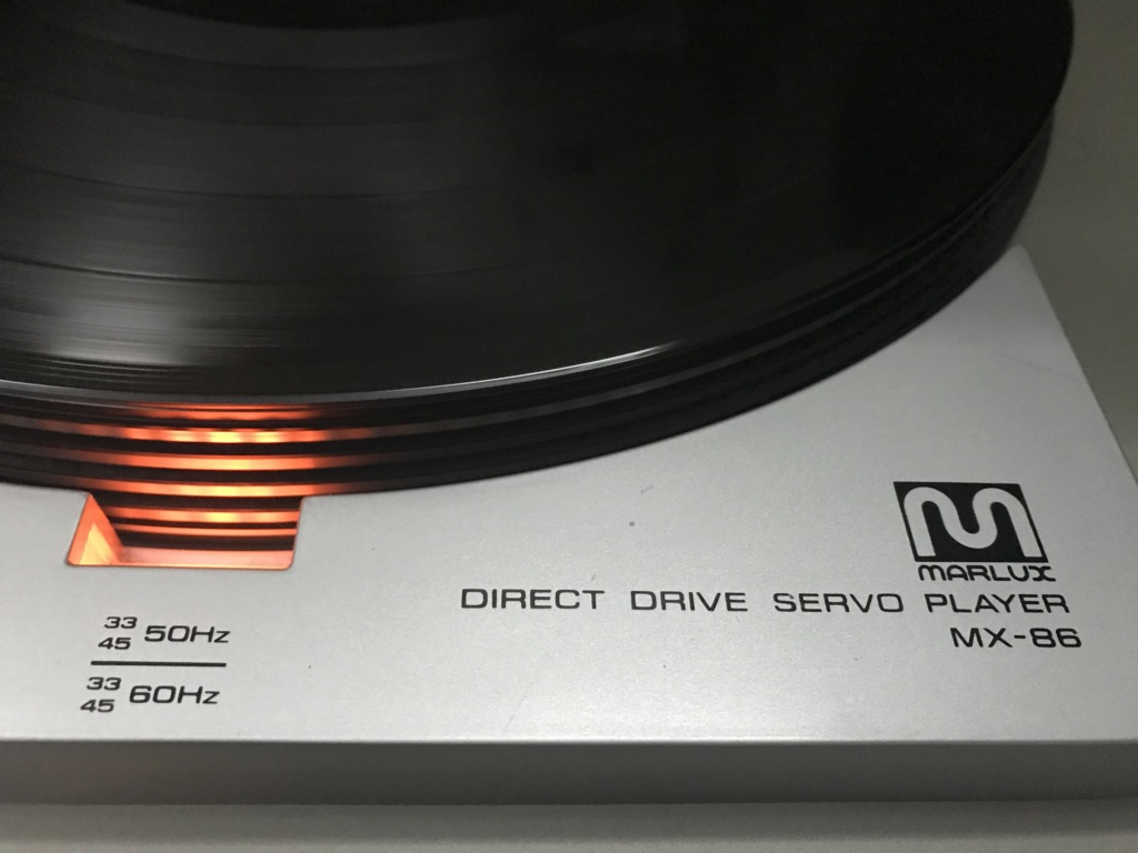 Marlux MX-86 2-Speed Direct-Drive Turntable(japan) Img_1717