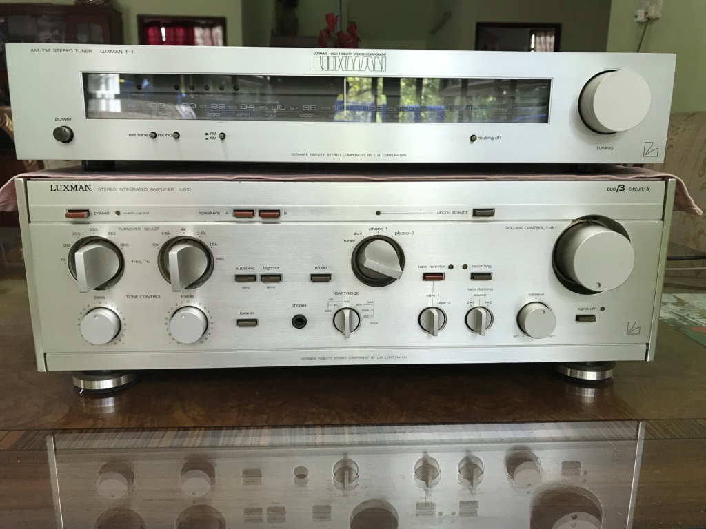 Luxman L-510 Duo Beta Circuit Stereo Integrated Amplifier Img_1810