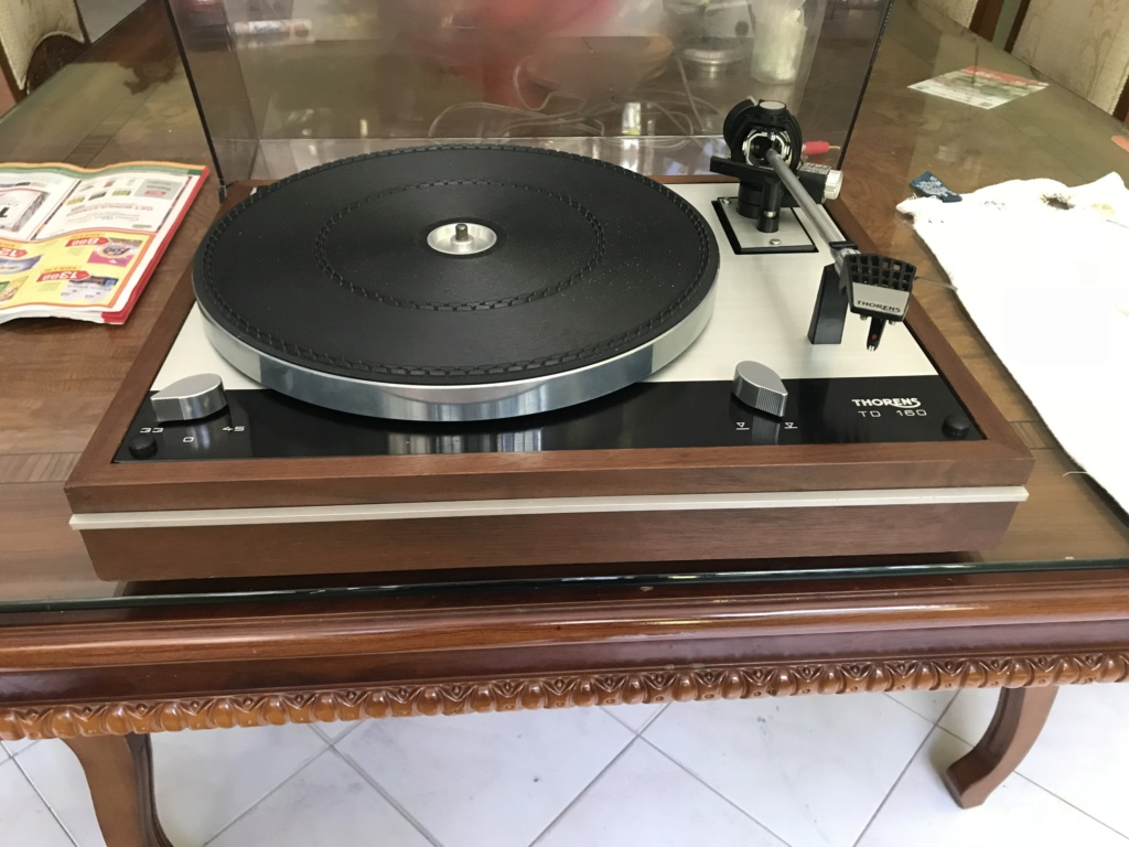 Thorens TD-160 Turntable(SOLD) Img_2112