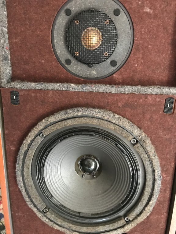 Vintage SONY  SS-A5 LA VOCE B/S speakers Img_2911