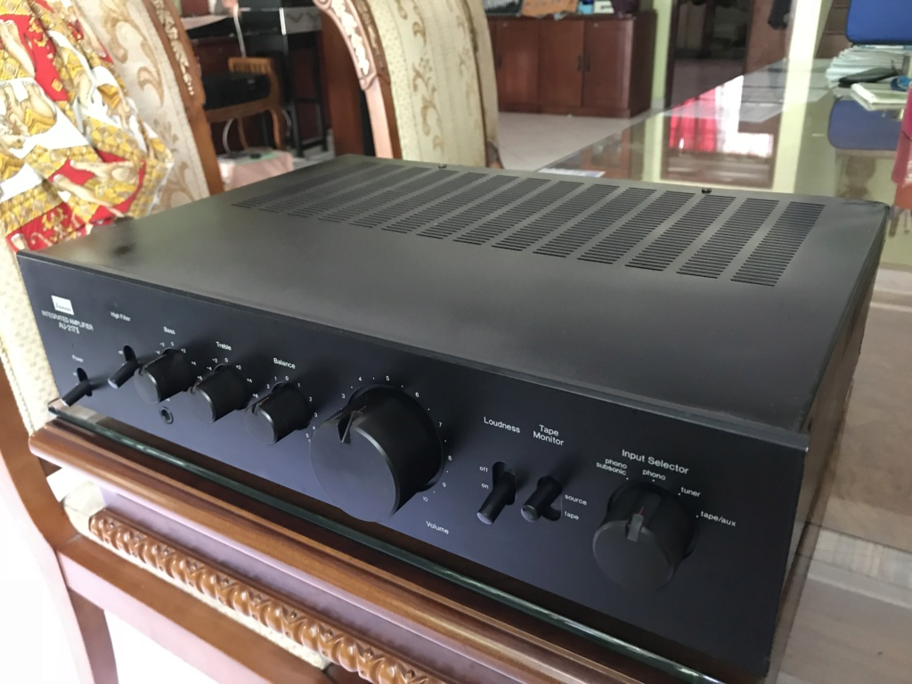 Sansui AU-217 mkii Stereo Integrated Amplifier (1977) Img_3011