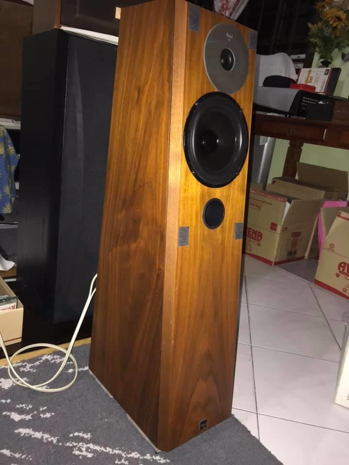 High end Royd Abbot speakers Rare  MADE in UK Img_4010