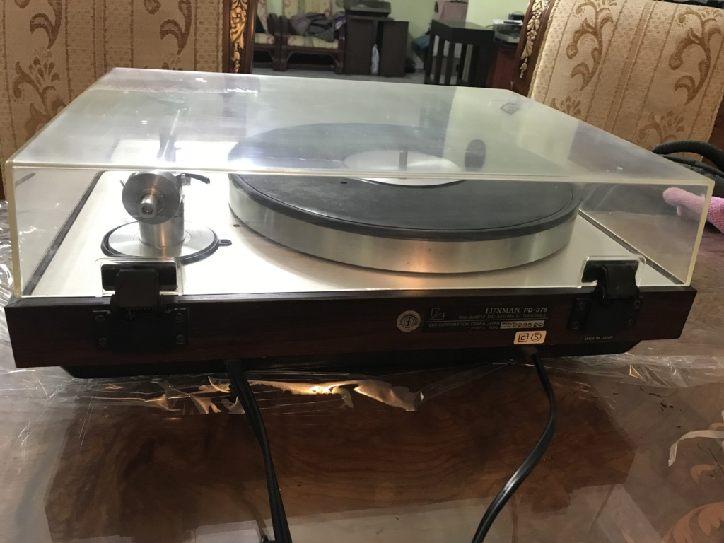 Luxman Hi-End VDS  TURNTABLE (Near Mint) Img_4112