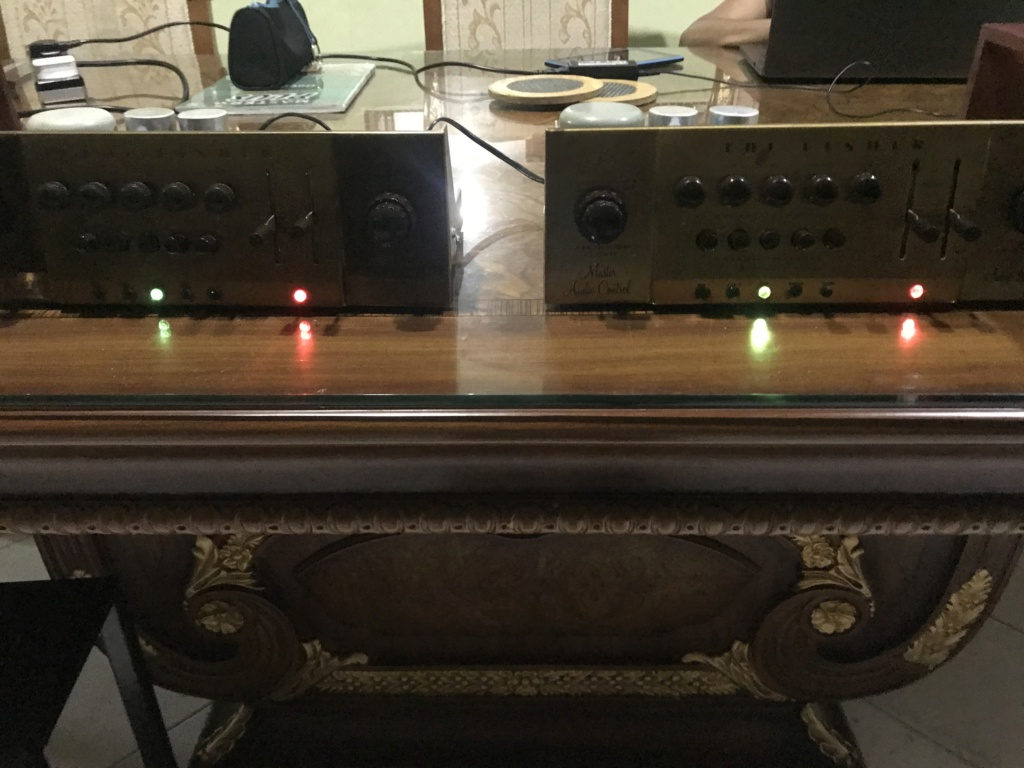 1956 THE FISHER 80-C  MONO tube preamp 1 pair phono works WELL Img_4115