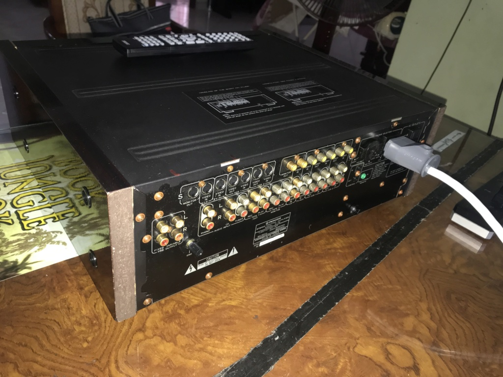 PIONEER Reference Series Top Line C-72 Stereo Preamp w/Remote Img_4710