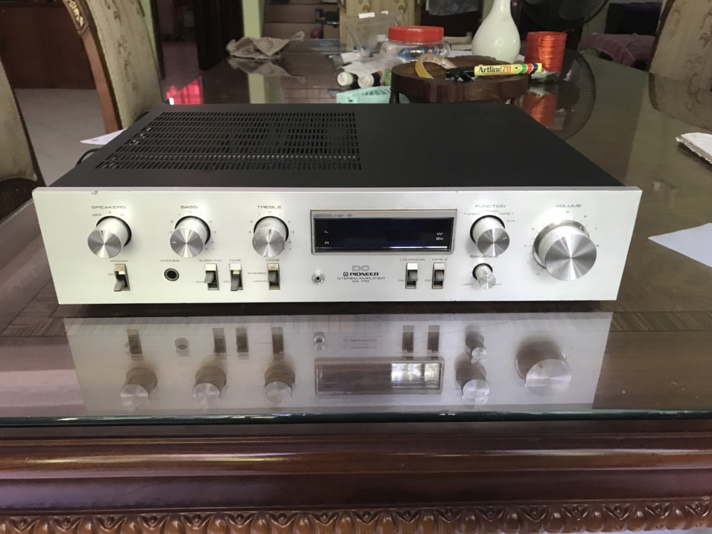 Pioneer SA-710 DC Integrated Amplifier Img_4812
