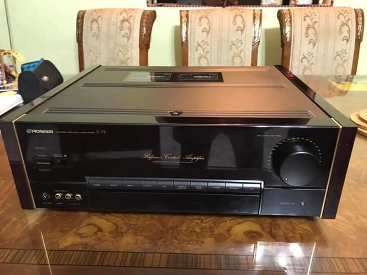 PIONEER Reference Series Top Line C-72 Stereo Preamp w/Remote Img_4813