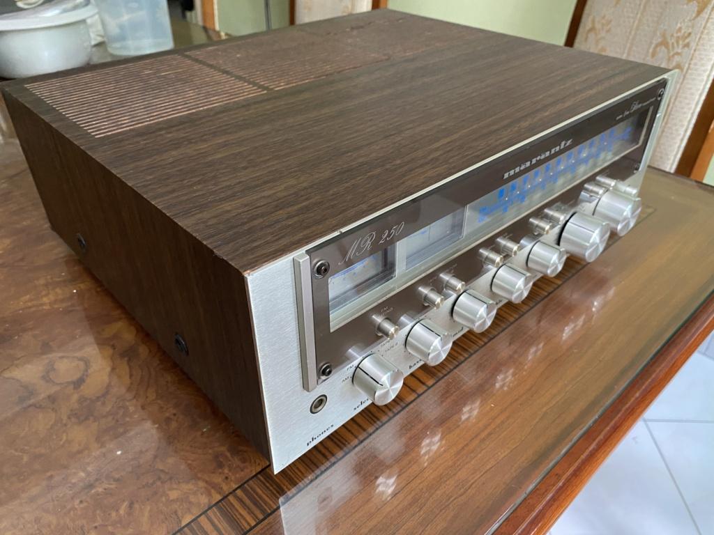 Marantz MR250 Stereophonic Receiver era 70s Img_5911