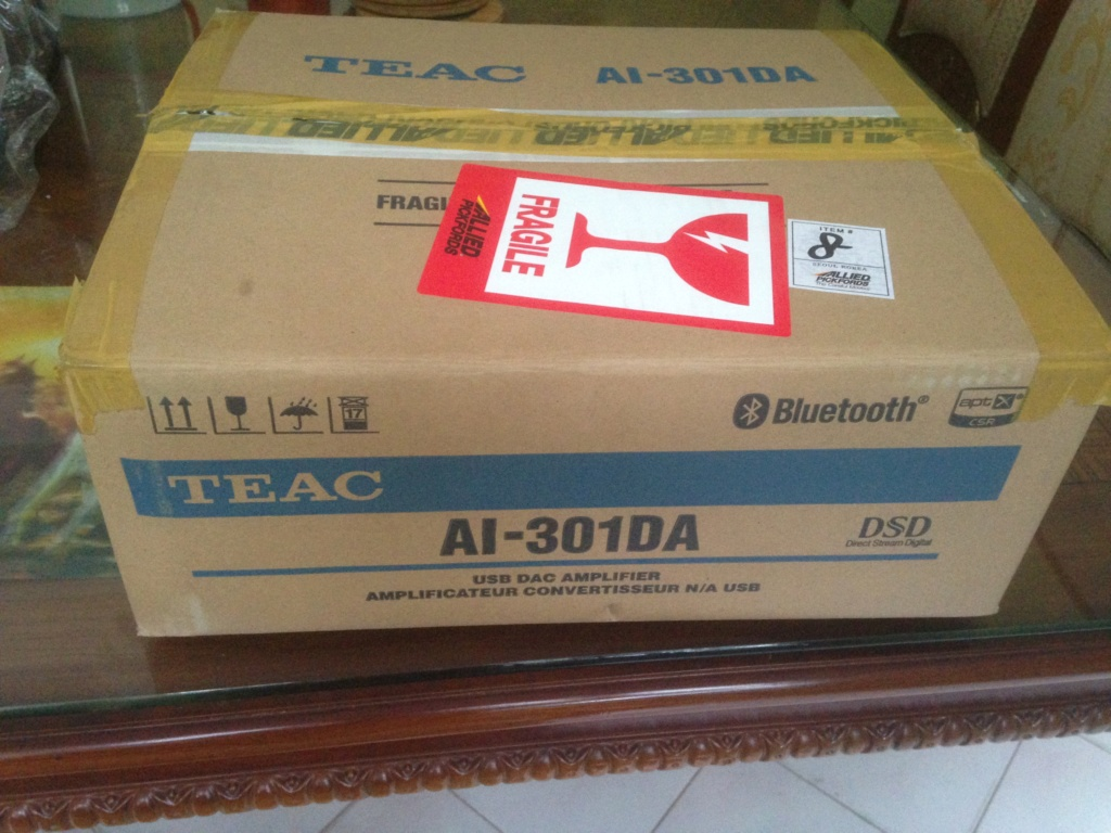 TEAC AI-301DA int amp with DAC & BLUETOOTH (SOLD) Img_6215