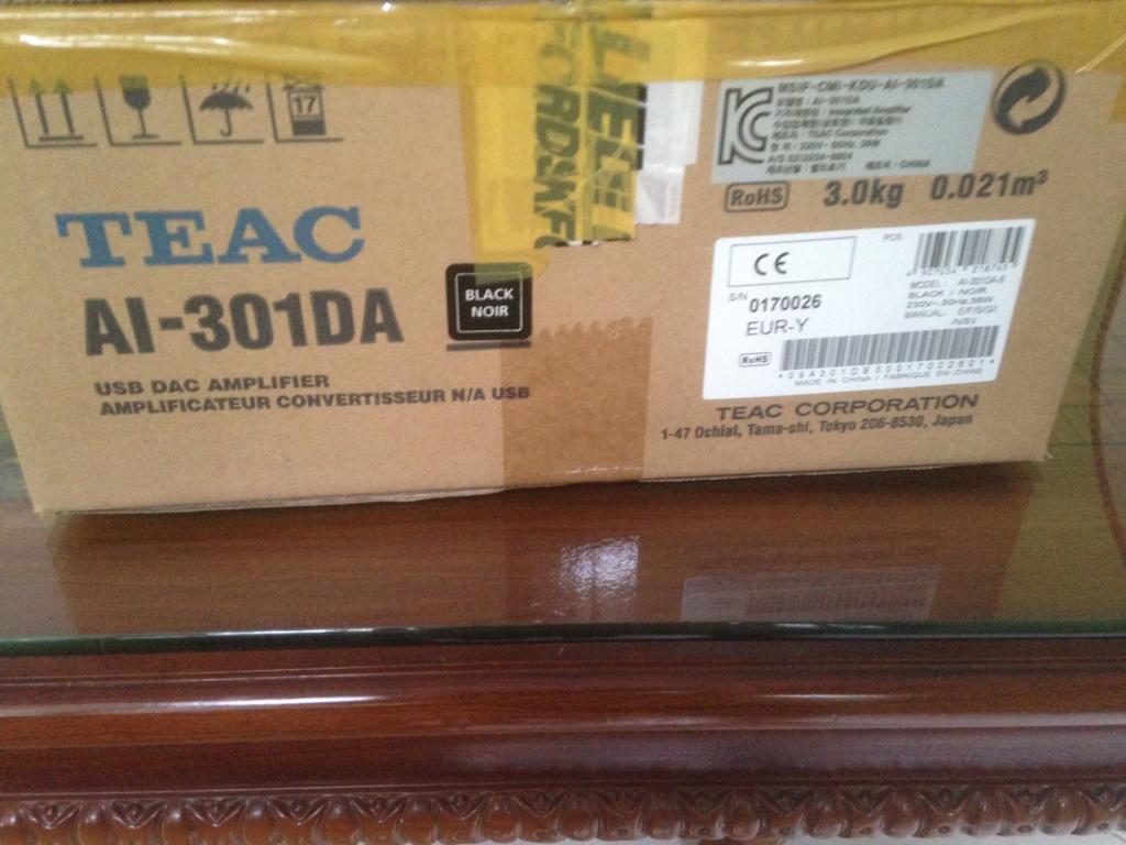 TEAC AI-301DA int amp with DAC & BLUETOOTH (SOLD) Img_6216