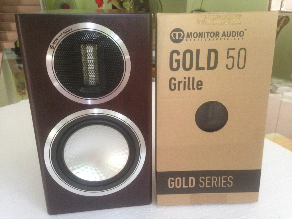 Monitor Audio Gold 50 Speakers (NEW*)Dark walnut Img_6313