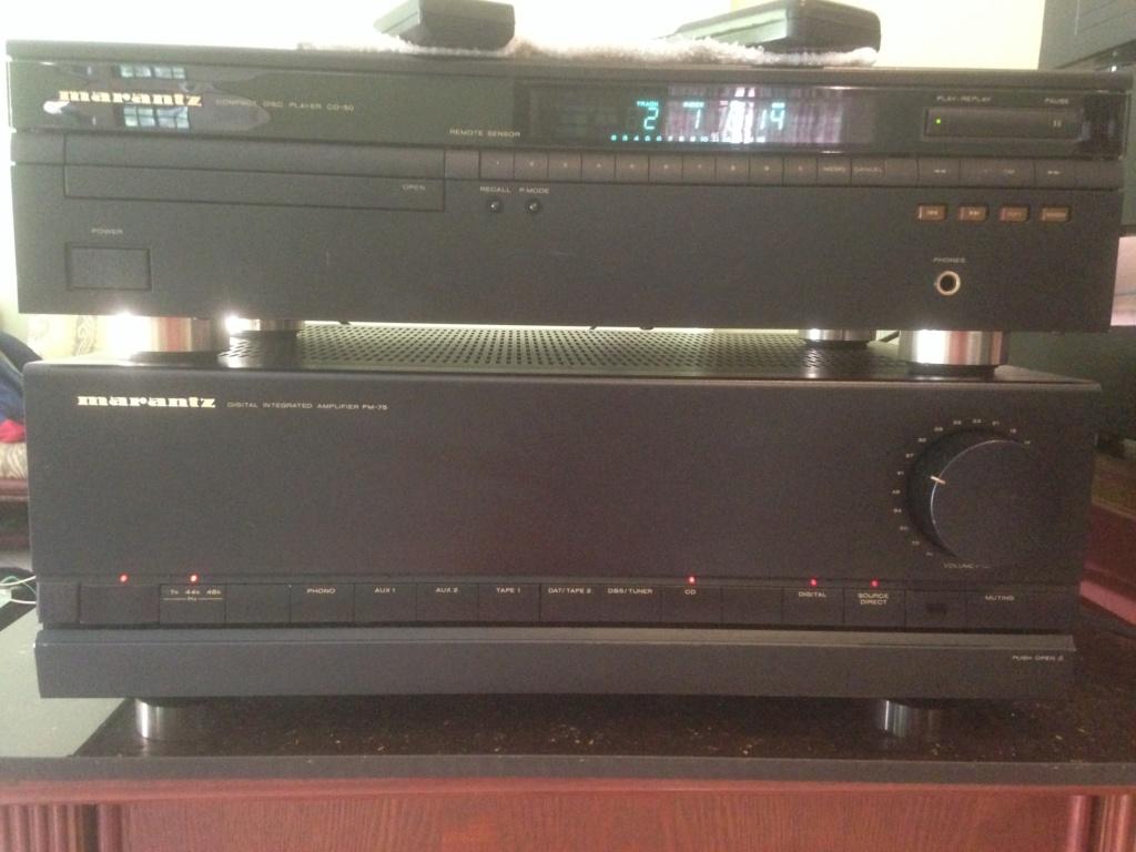 Marantz PM-75 n CD-50 vintage AMP n CDP Img_6510