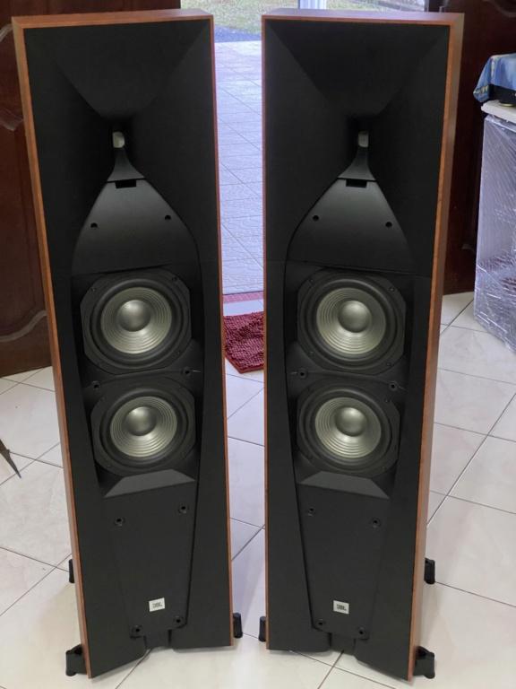 JBL Studio 580 F/S Speakers(MINT) Img_7110
