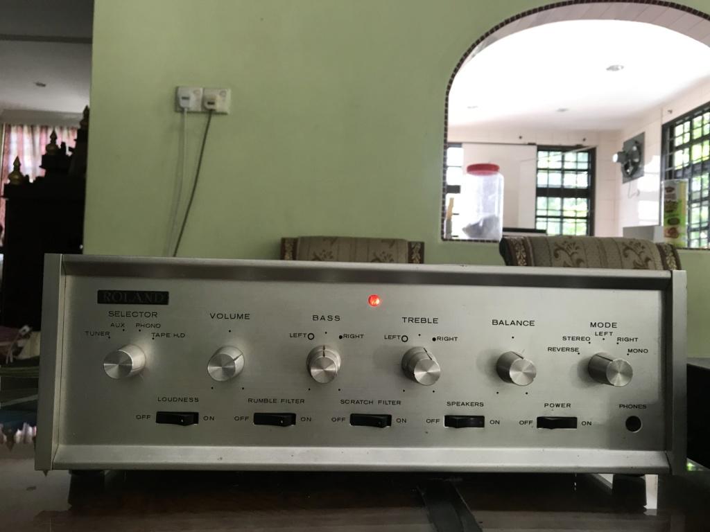ROLAND RA-400 tube amp( vintage japan made) Img_7410