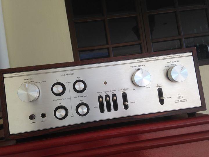 LUXMAN L31 amp( vintage) L211
