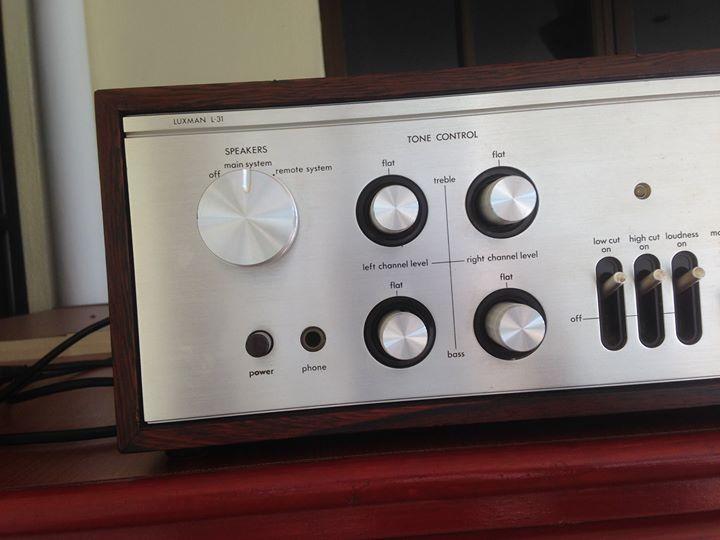 LUXMAN L31 amp( vintage) L310