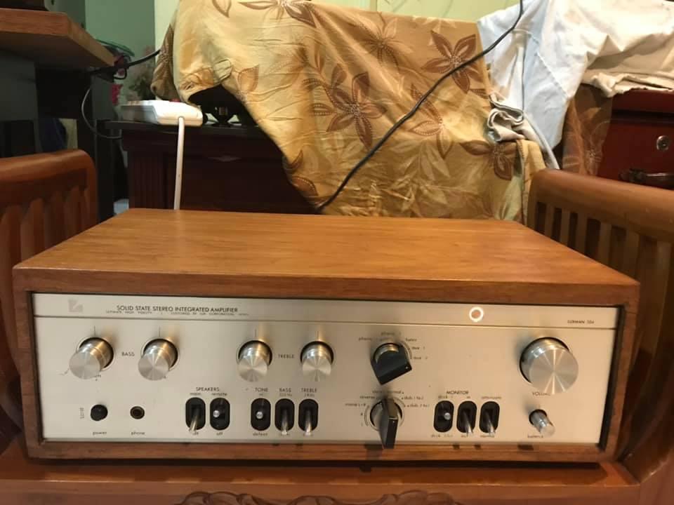 Luxman L-504 solid state int AMP  L_50410