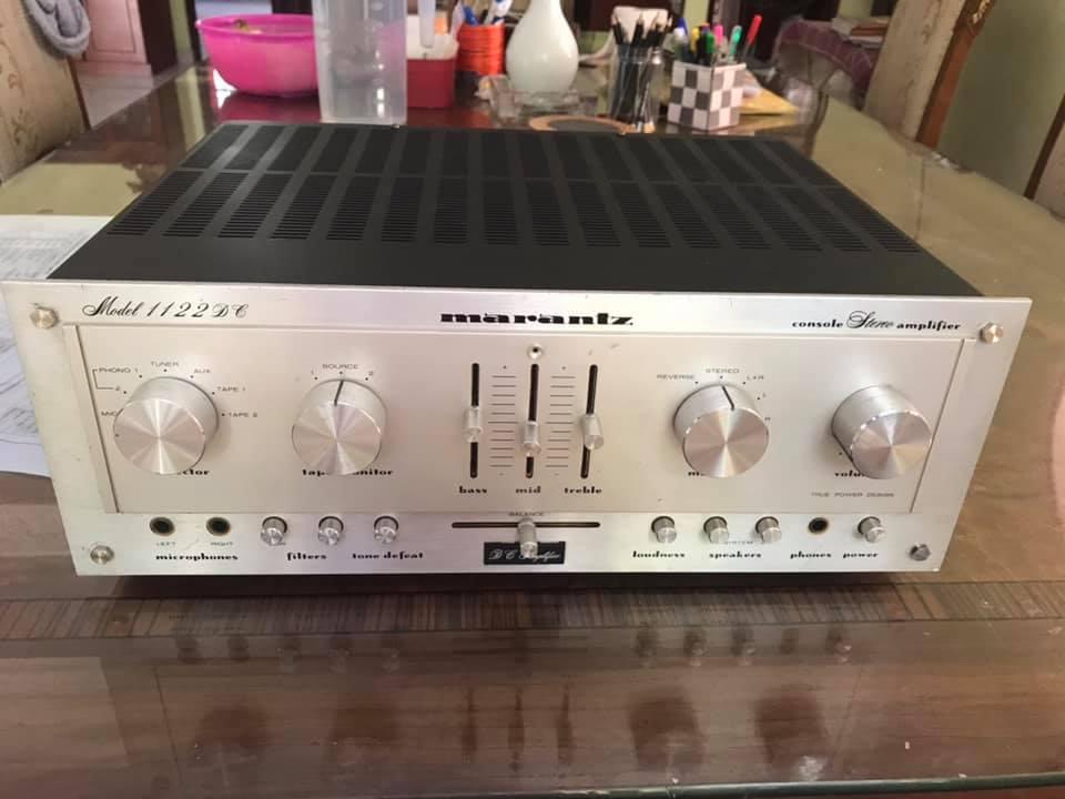 Marantz 1122DC Stereo Console Amplifier  1979  M115