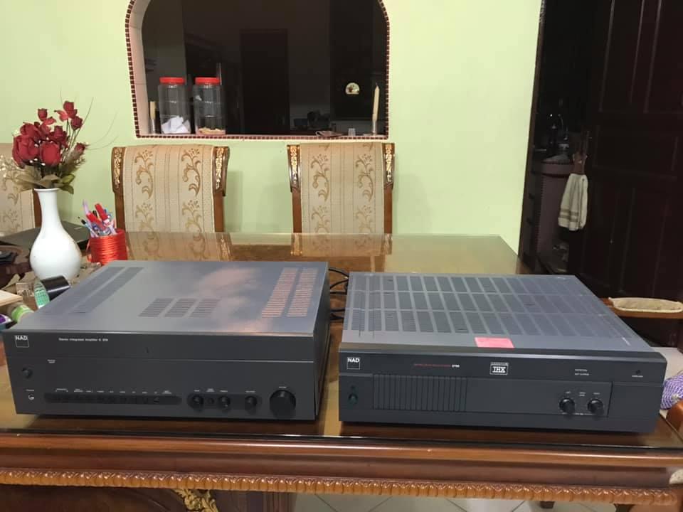NAD C370 & THX 2700 power amp N114