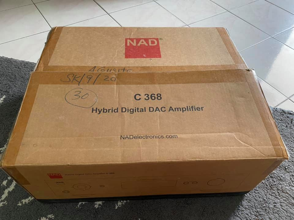 NAD Digital DAC amplifier C-368(SOLD) N117