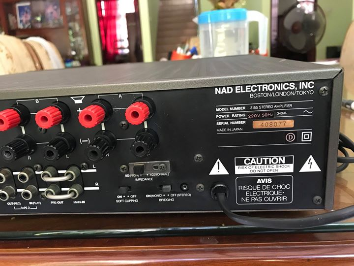 NAD 3155 made in japan MM/MC phono N810