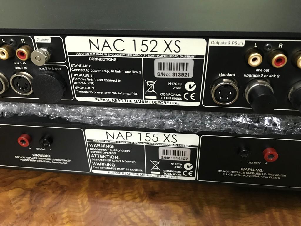 NAIM NAC 152 XS & NAP 155 XS Rm7k+  W/box Naim10