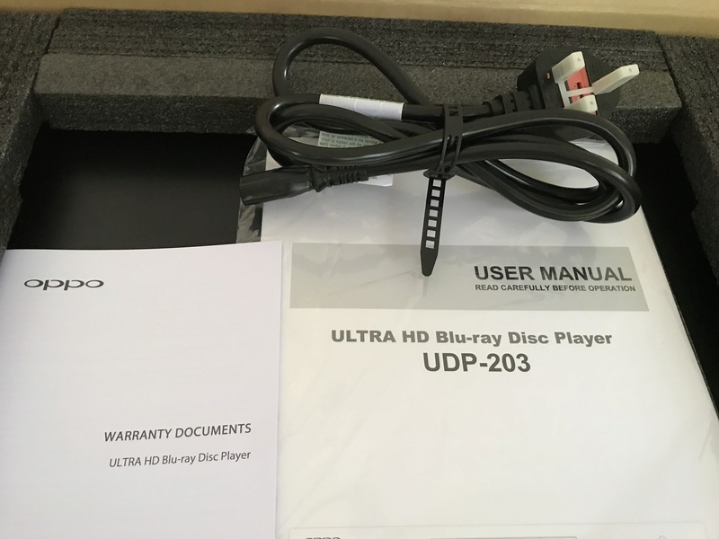 OPPO UDP-203 4K Ultra(Jailbreak) Brand new cond Op310