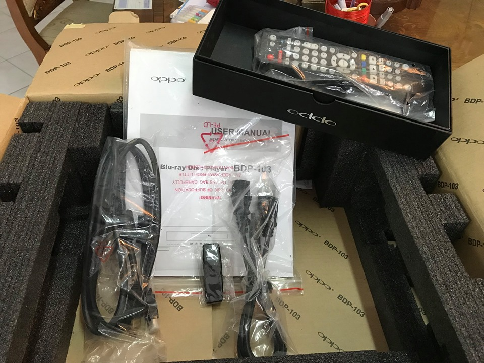 OPPO BDP-103 (jailbreak) W/ box(SOLD) Oppo110