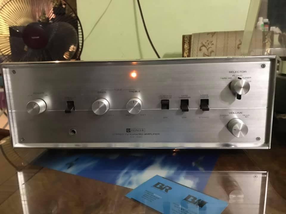 Pioneer antique tube amplifier clean cond P112