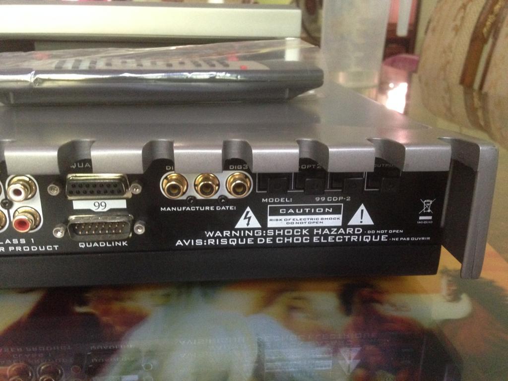 Quad 99 CDP-2 (pre,dac n cdp) CD PLAYER Q510