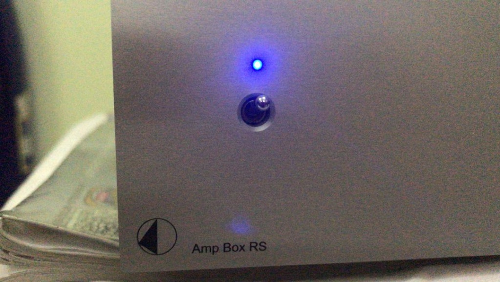 Pro-Ject Amp Box RS Reference stereo Power Amp(MINT) Rs310