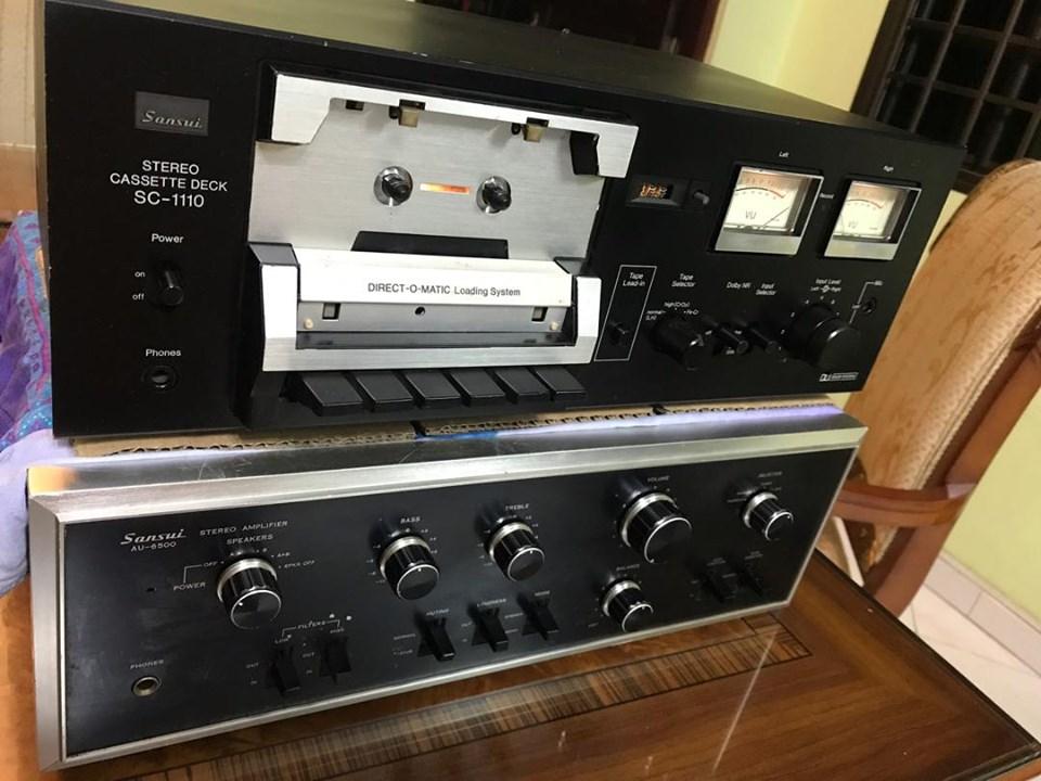 Sansui AU-6500 & Sansui SC-1110  S110