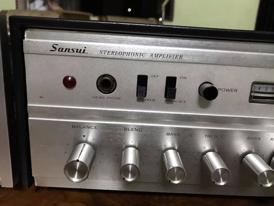 SANSUI AU 70 Tube Stereo Amplifier S111