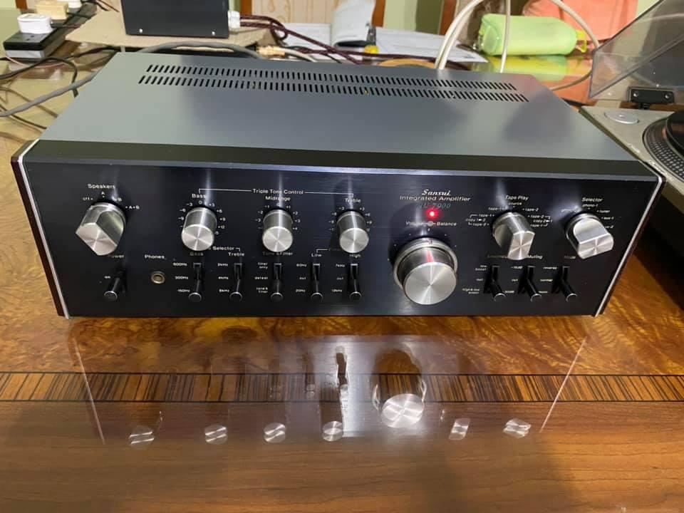 Sansui AU-7900 vintage AMPLIFIER 1976  S113