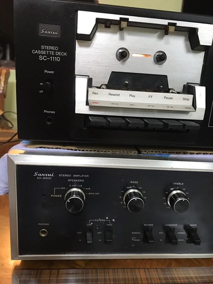 Sansui AU-6500 & Sansui SC-1110  S210