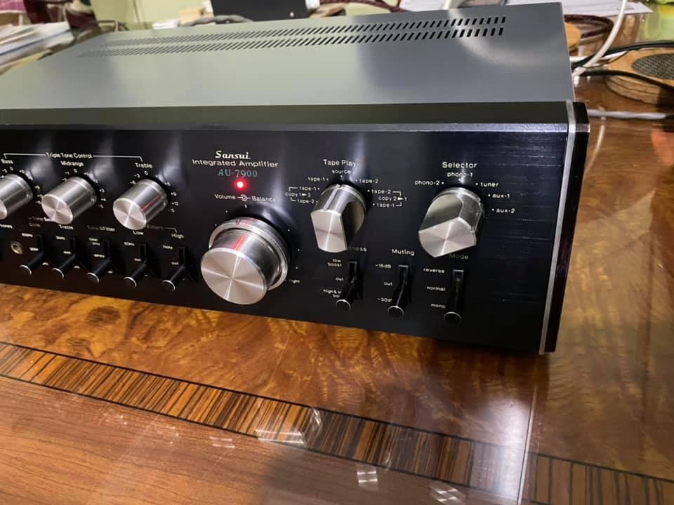 Sansui AU-7900 vintage AMPLIFIER 1976  S212