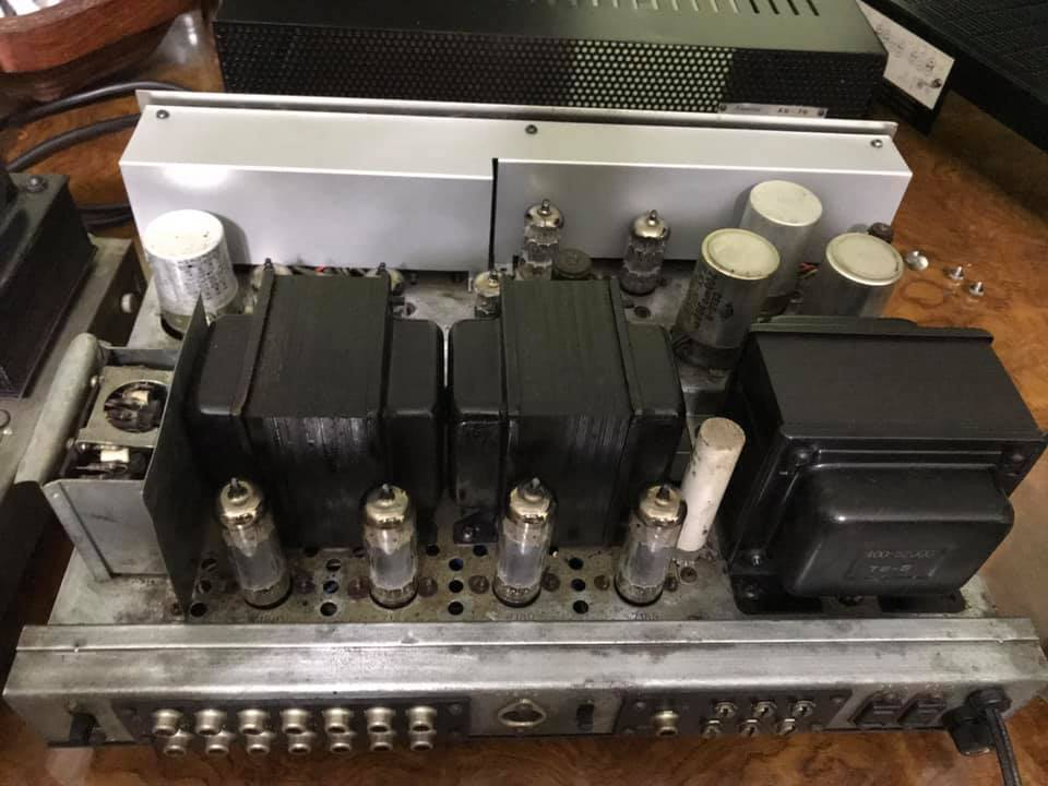 SANSUI AU 70 Tube Stereo Amplifier S2a10