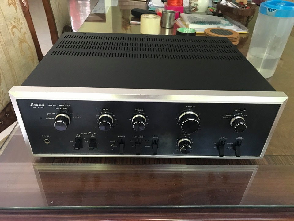 Sansui AU-6500 & Sansui SC-1110  S310