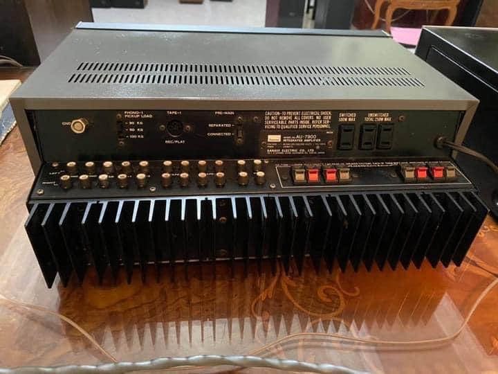Sansui AU-7900 vintage AMPLIFIER 1976  S313
