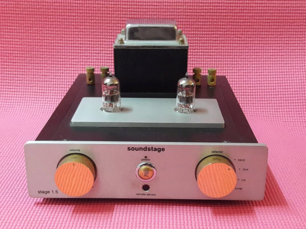 Soundstage 1.5 hybrid Integrated Tube Amplifier(SOLD) T110