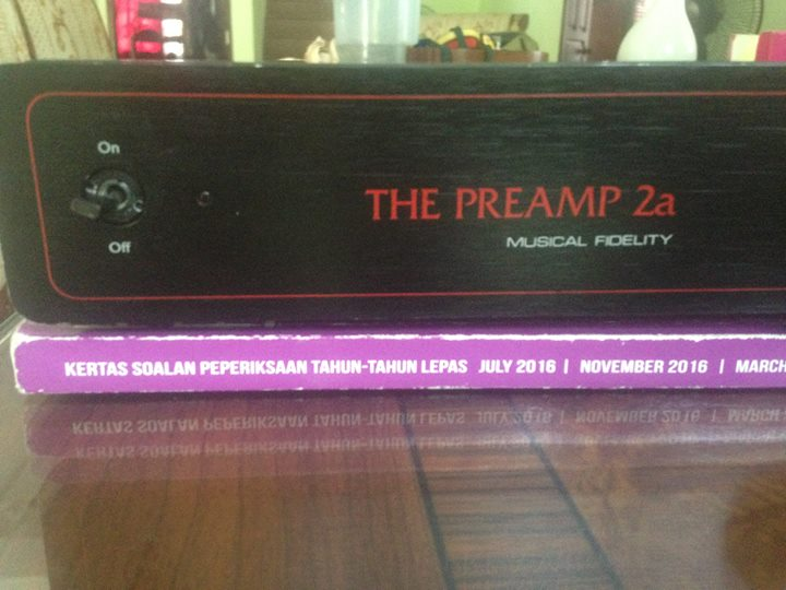 MUSICAL FIDELITY the preamp 2a (mm/mc) pure class A Ta210