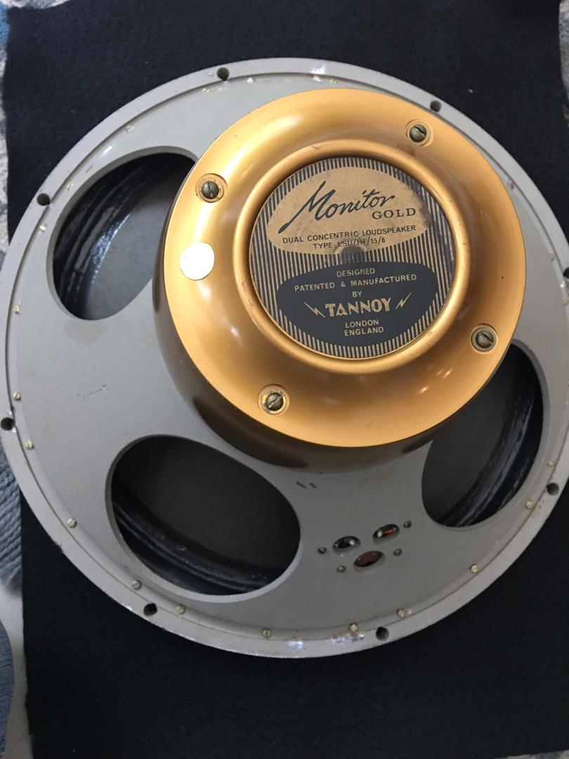 Tannoy Monitor Gold 15″(LSU/HF/15/8) GREAT CONDITON Tannoy10