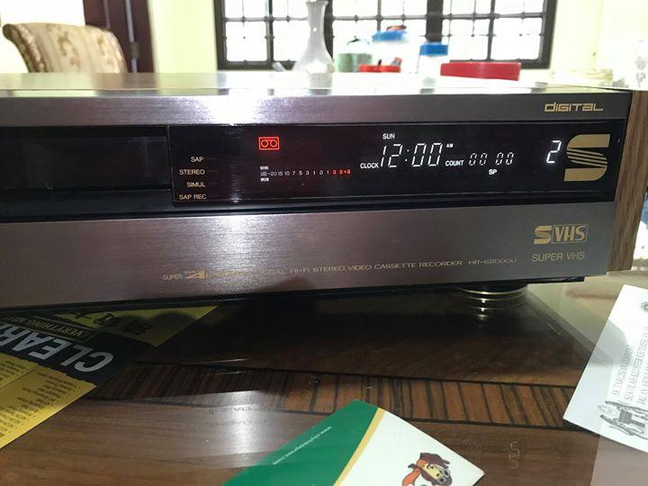 JVC Hr-s8000u S-vhs Super 4 Head VHS Digital VCR Vc110