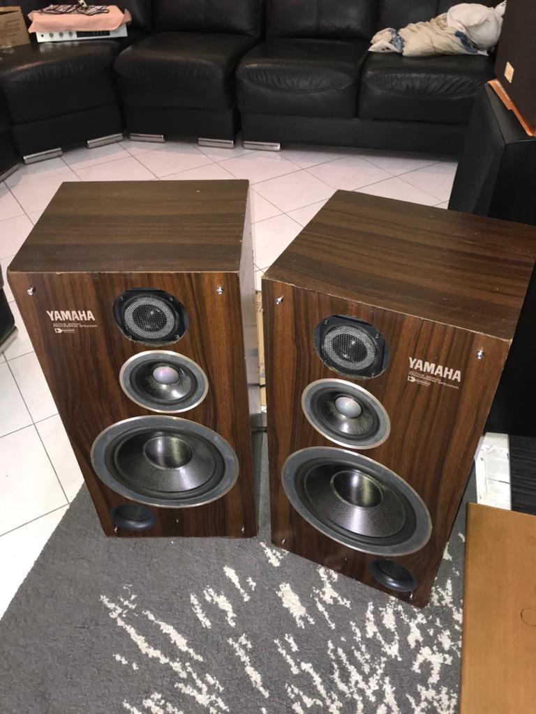 vintage YAMAHA NS-500- YST speakers made in japan Y113