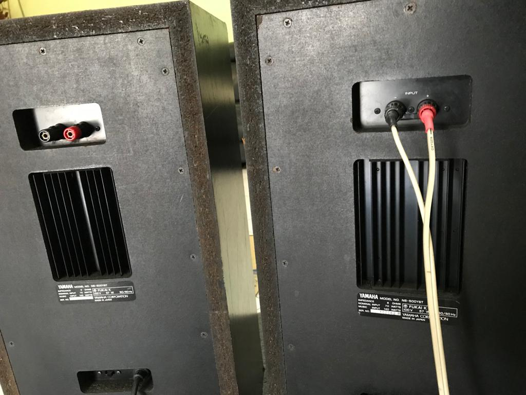 vintage YAMAHA NS-500- YST speakers made in japan Y312